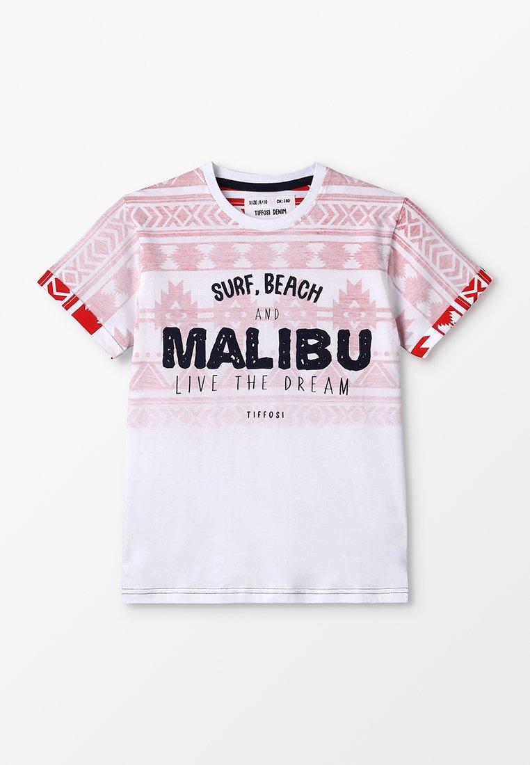 Tiffosi - KAPPA - Print T-shirt - vermelho