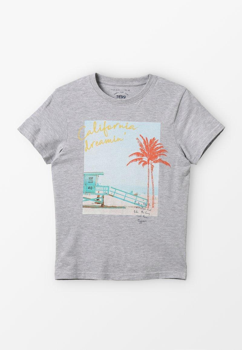 Tiffosi - IAN - T-Shirt print - cinza