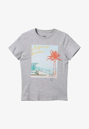 IAN - Print T-shirt - cinza