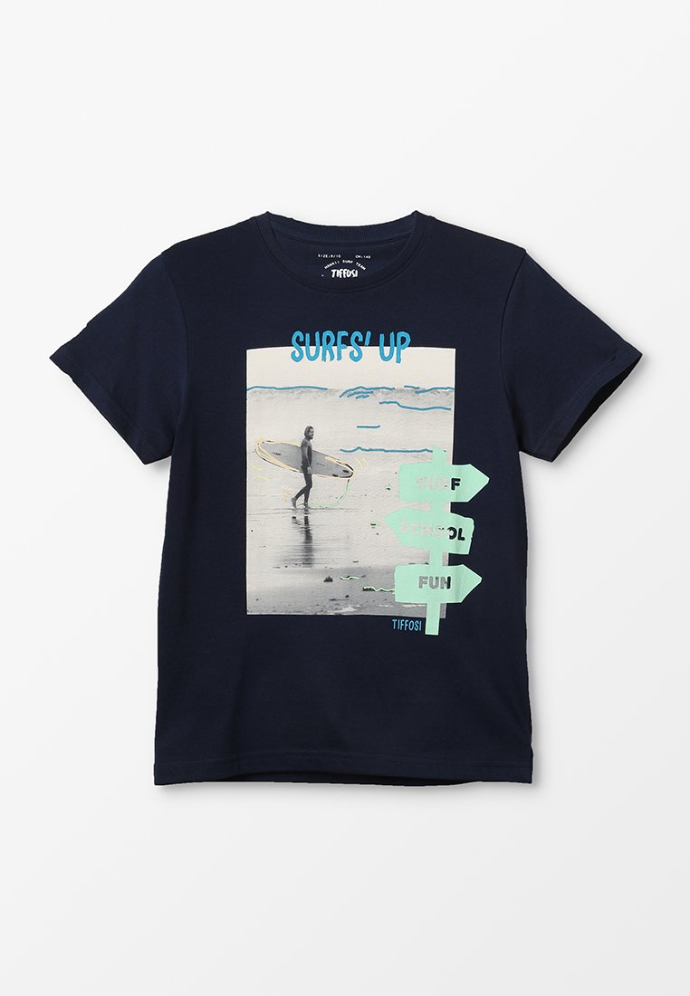 Tiffosi - IAN - T-shirt imprimé - azul