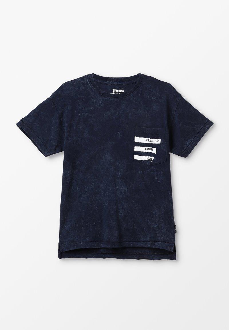 Tiffosi - ROGERIO - Print T-shirt - azul
