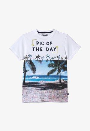 TOBIAS - T-shirt print - branco