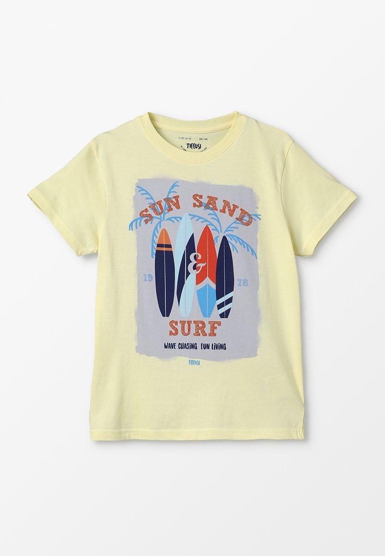 Tiffosi - CUBA - T-shirts med print - amarelo