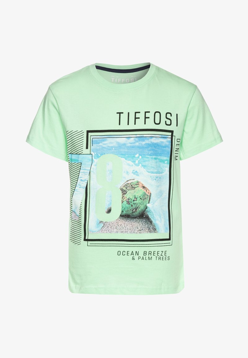 Tiffosi - DONALD - Triko spotiskem - green