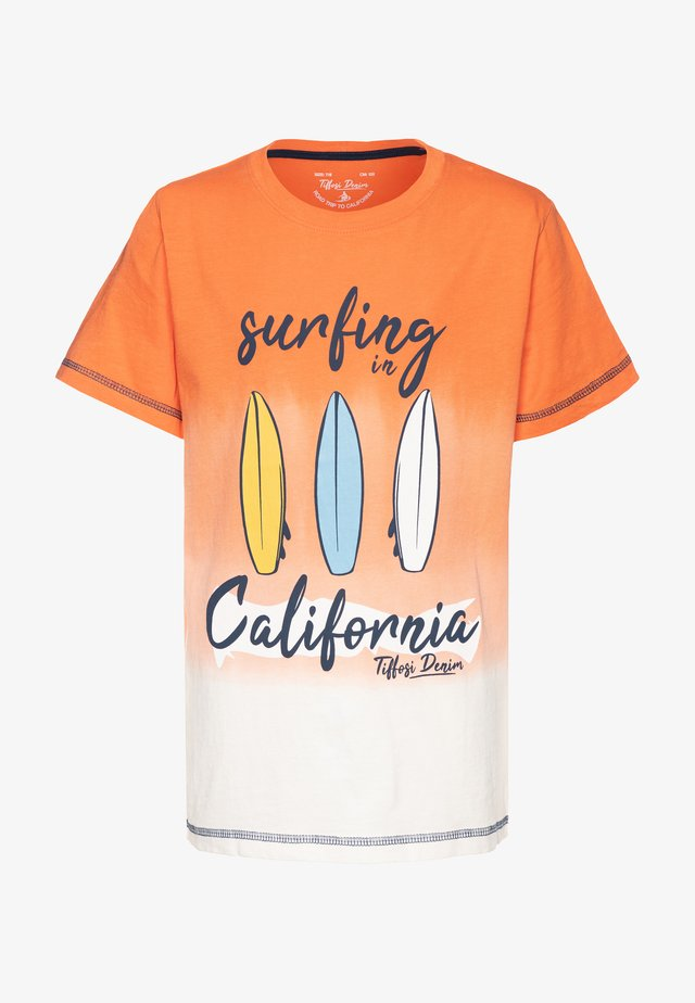 JUAREZ - Print T-shirt - orange