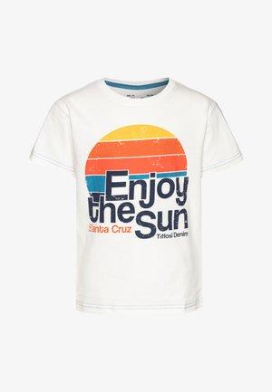 ADAMASTOR - T-Shirt print - bege