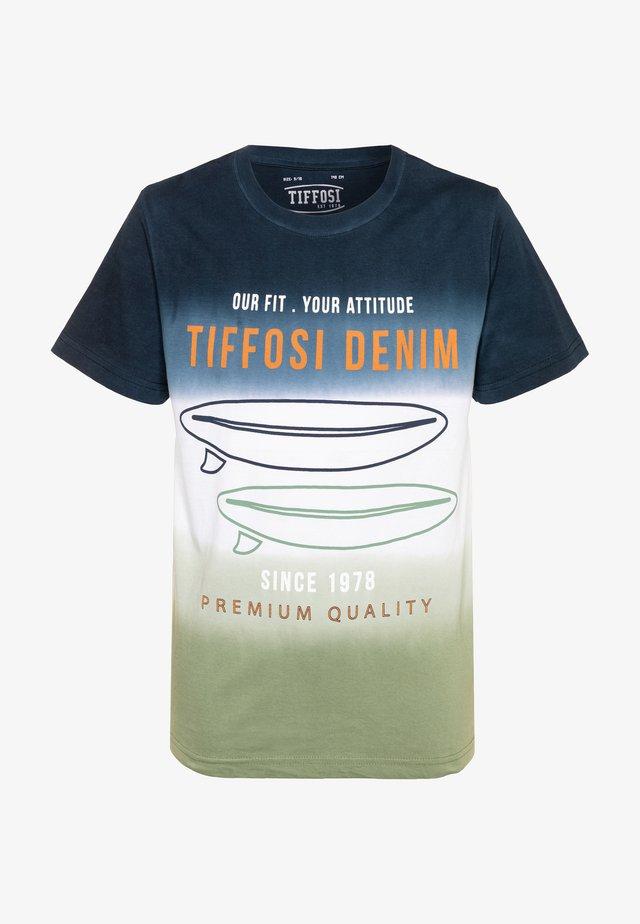 RAFAEL - T-shirt con stampa - blue