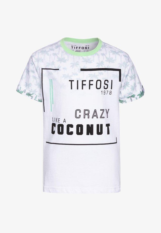 KAPPA - Print T-shirt - green