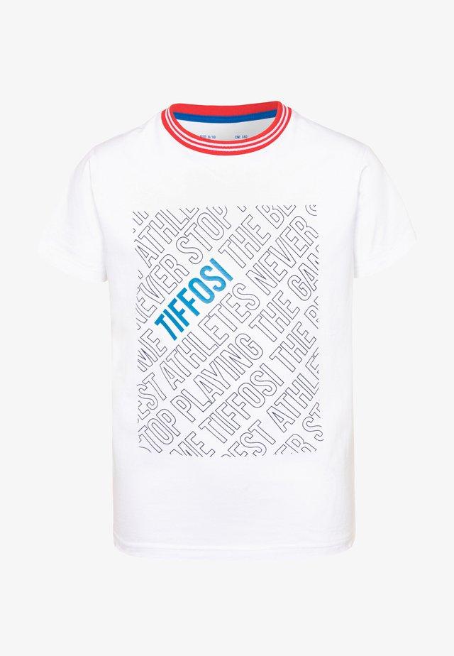 OTAVIO - Print T-shirt - white