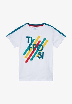 GROVER - Camiseta estampada - white