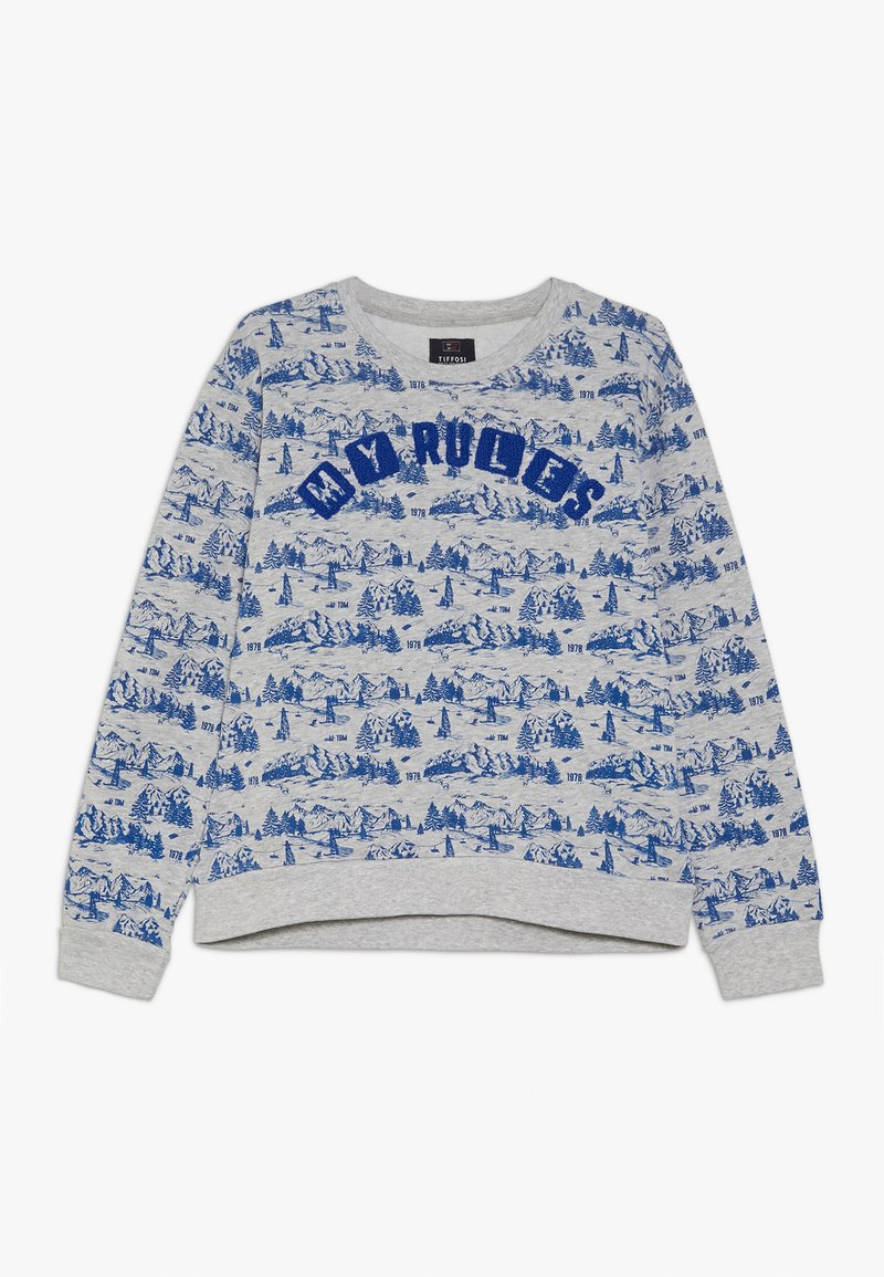 Tiffosi - DISTROY - Sweatshirt - cinza