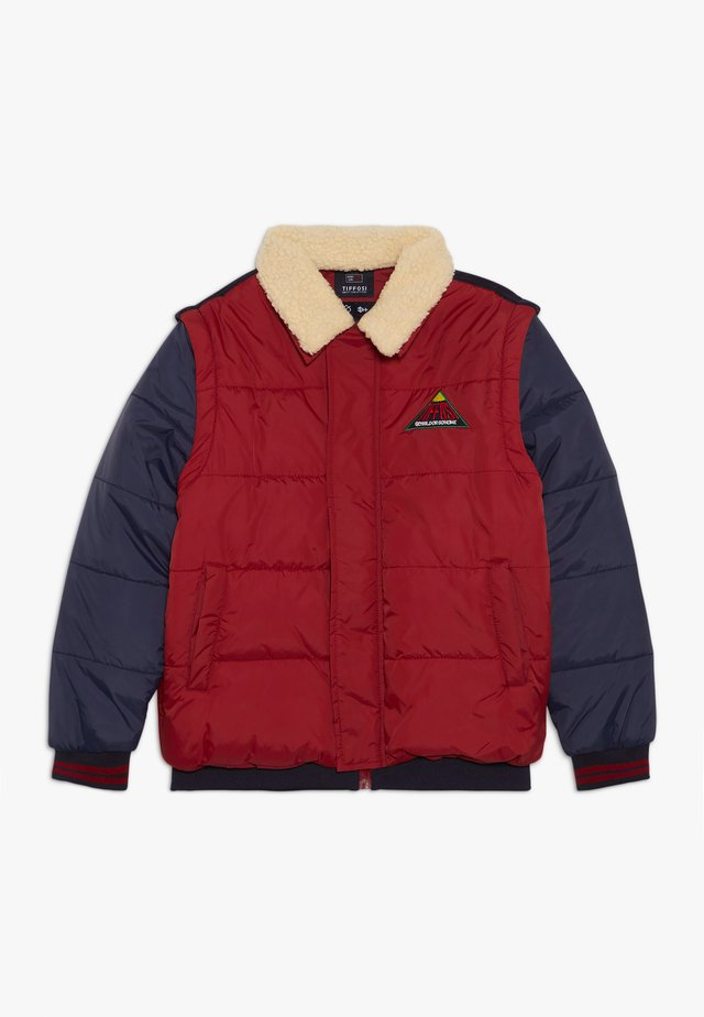 FAUSTO 2-IN-1 - Winter jacket - red