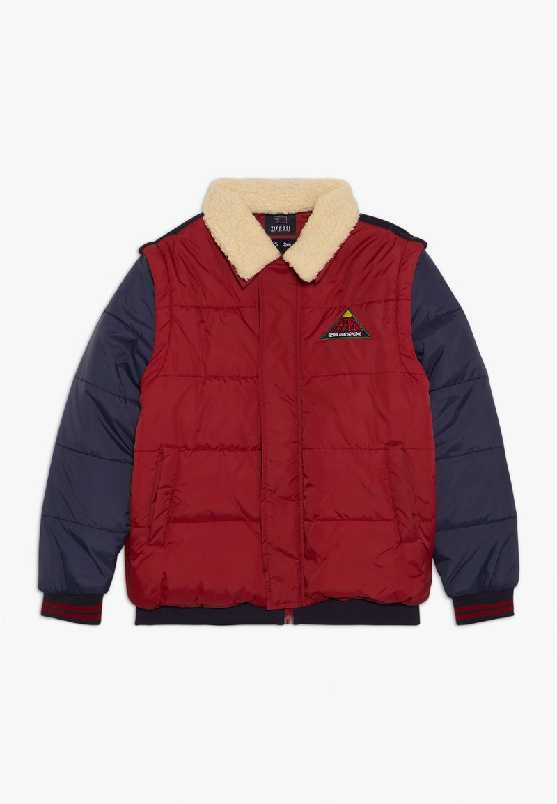 Tiffosi - FAUSTO 2-IN-1 - Giacca invernale - red