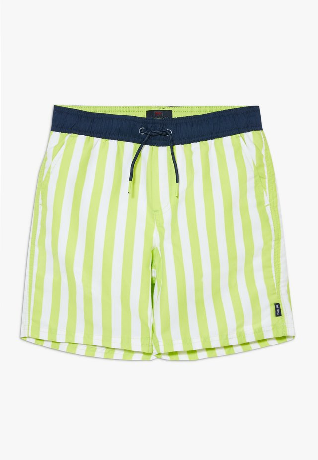 PETER - Swimming shorts - green fluor