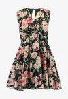 TFNC Petite - NORDI MINI - Cocktail dress / Party dress - black/pink