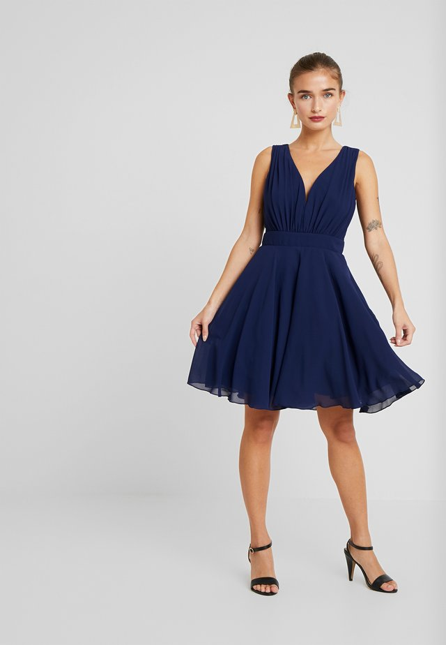 VIVIAN DRESS - Cocktailklänning - navy
