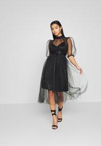 TFNC Petite - YOKO DRESS - Juhlamekko - black - 6