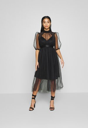 YOKO DRESS - Cocktailklänning - black