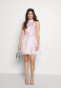 TFNC Petite - SANIRI MINI DRESS - Koktejlové šaty/ šaty na párty - pink - 1