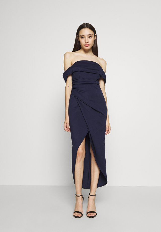 GRACE WRAP - Cocktailklänning - navy