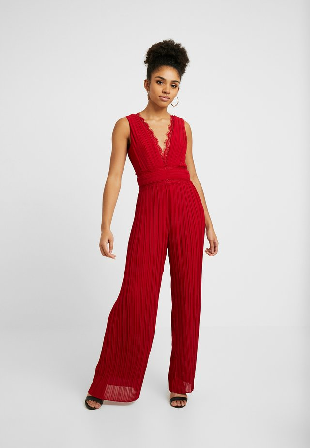 TAVI - Jumpsuit - burgundy
