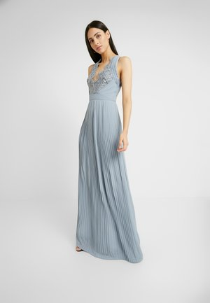 MADALINE MAXI - Galajurk - grey blue