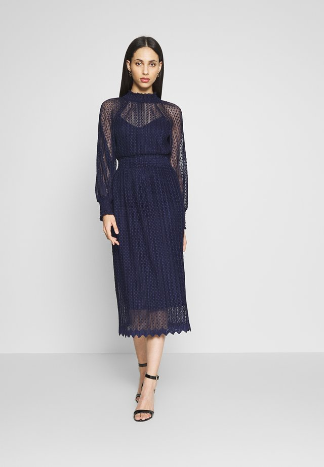 WHISPER MIDI - Cocktailjurk - navy