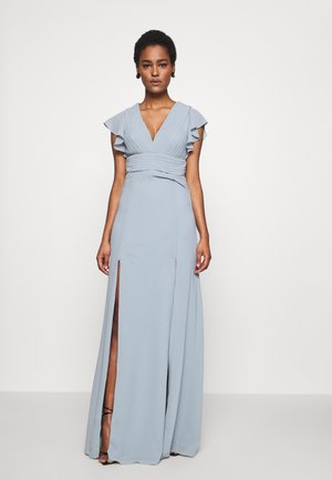 REA MAXI - Occasion wear - dustry sage