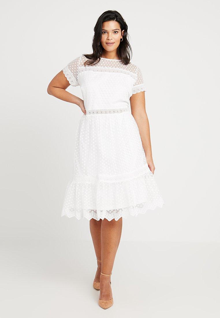 TFNC Curve - EXCLUSIVE PELLA MIDI DRESS - Cocktail dress / Party dress - off white