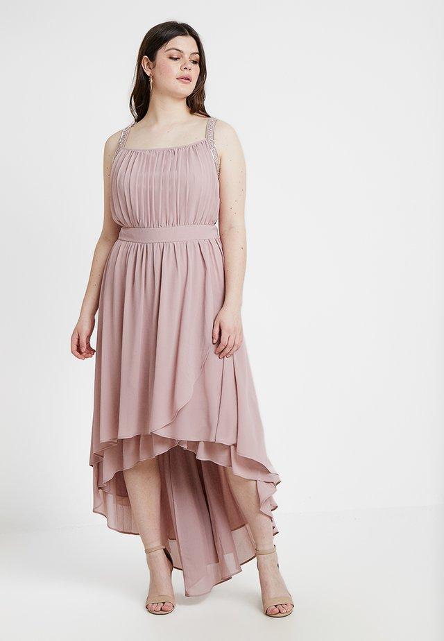 EXCLUSIVE JORA MAXI DRESS - Occasion wear - pale mauve