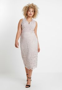 TFNC Curve - EXCLUSIVE OHANNA MIDI LACE DRESS - Cocktailkjole - whisper pink - 0
