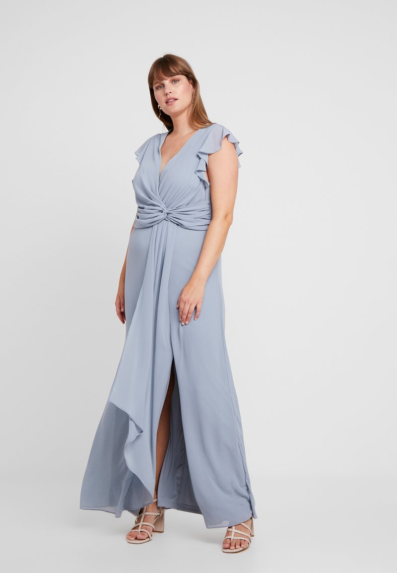 TFNC Curve - JUBA - Cocktailkleid/festliches Kleid - grey blue