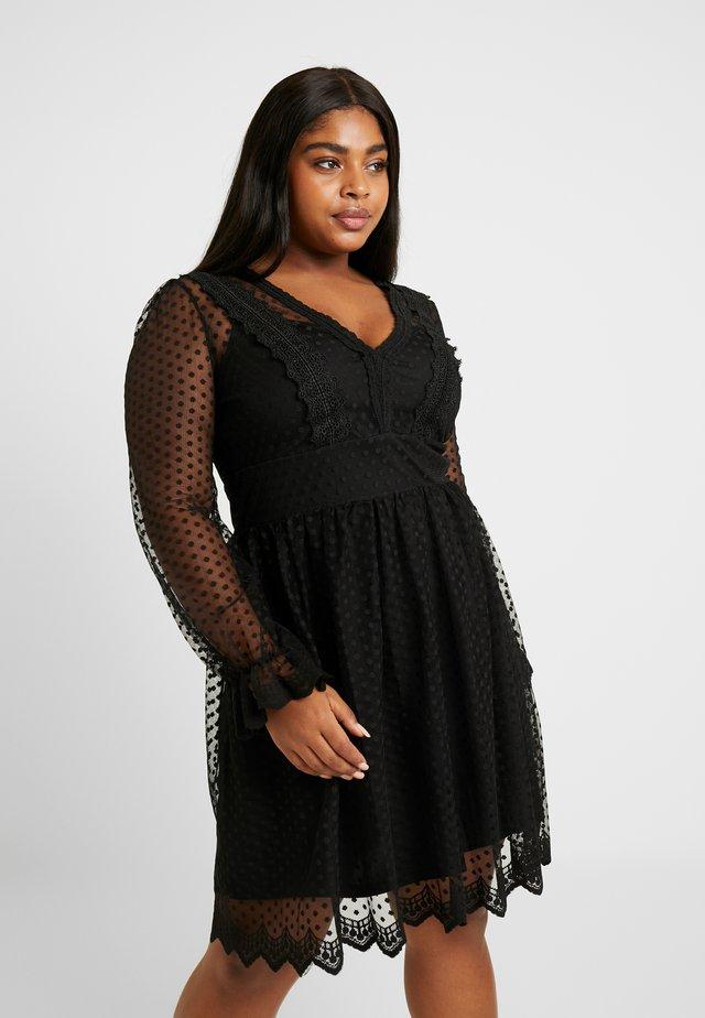 TARIAN DRESS - Sukienka koktajlowa - black