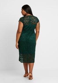 TFNC Curve - VERYAN DRESS - Cocktailkjole - jade green - 3