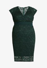 TFNC Curve - VERYAN DRESS - Cocktailkjole - jade green - 4
