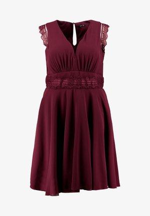 VIVICA DRESS - Cocktail dress / Party dress - burgundy