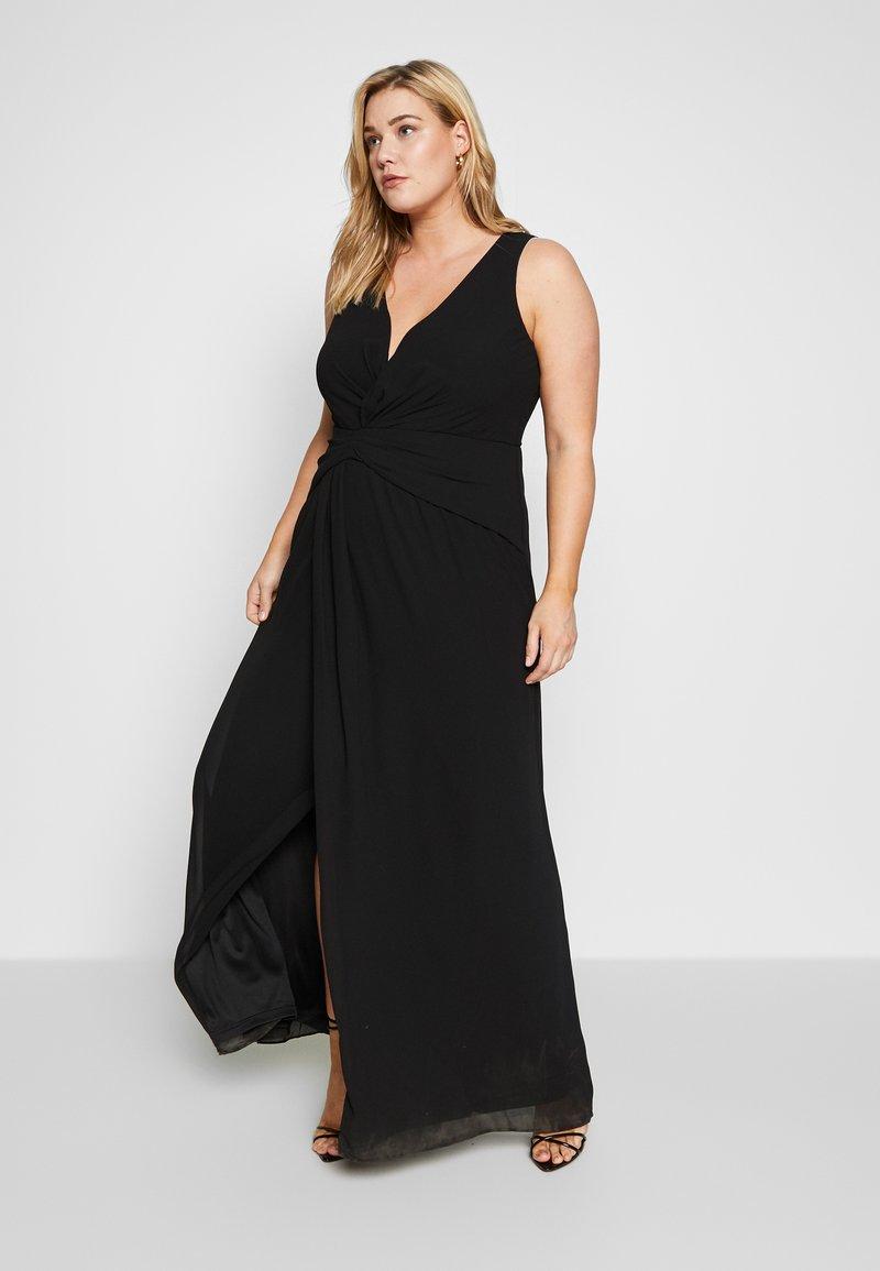 TFNC Curve - DIANNE MAXI - Společenské šaty - black