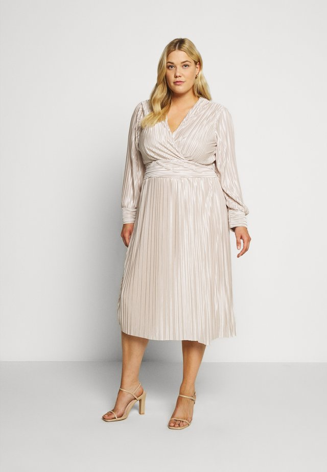 ZAPA MIDI DRESS - Robe de soirée - cream