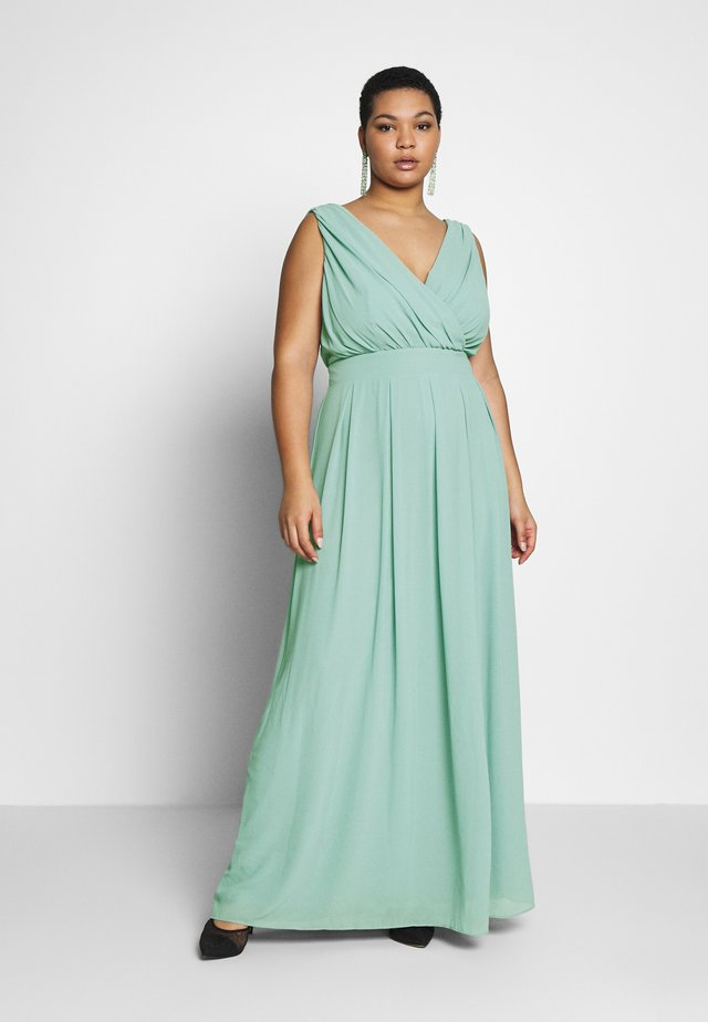 KESHA MAXI - Robe de cocktail - dusty sage