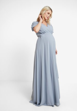 EXCLUSIVE KATIA - Vestido de fiesta - grey blue