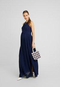 TFNC Maternity - EXCLUSIVE PRAGUE DRESS - Iltapuku - navy - 2