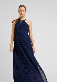 TFNC Maternity - EXCLUSIVE PRAGUE DRESS - Iltapuku - navy - 4