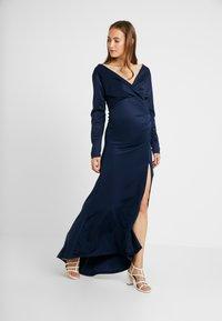 TFNC Maternity - EXCLUSIVE TEGWEN MAXI - Suknia balowa - navy - 1