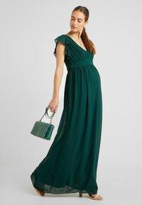 TFNC Maternity - EXCLUSIVE LYON MAXI DRESS - Occasion wear - jade green - 2