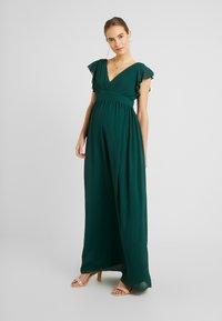 TFNC Maternity - EXCLUSIVE LYON MAXI DRESS - Occasion wear - jade green - 0