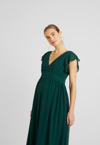 TFNC Maternity - EXCLUSIVE LYON MAXI DRESS - Occasion wear - jade green - 4
