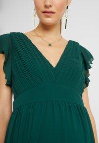 TFNC Maternity - EXCLUSIVE LYON MAXI DRESS - Occasion wear - jade green - 6