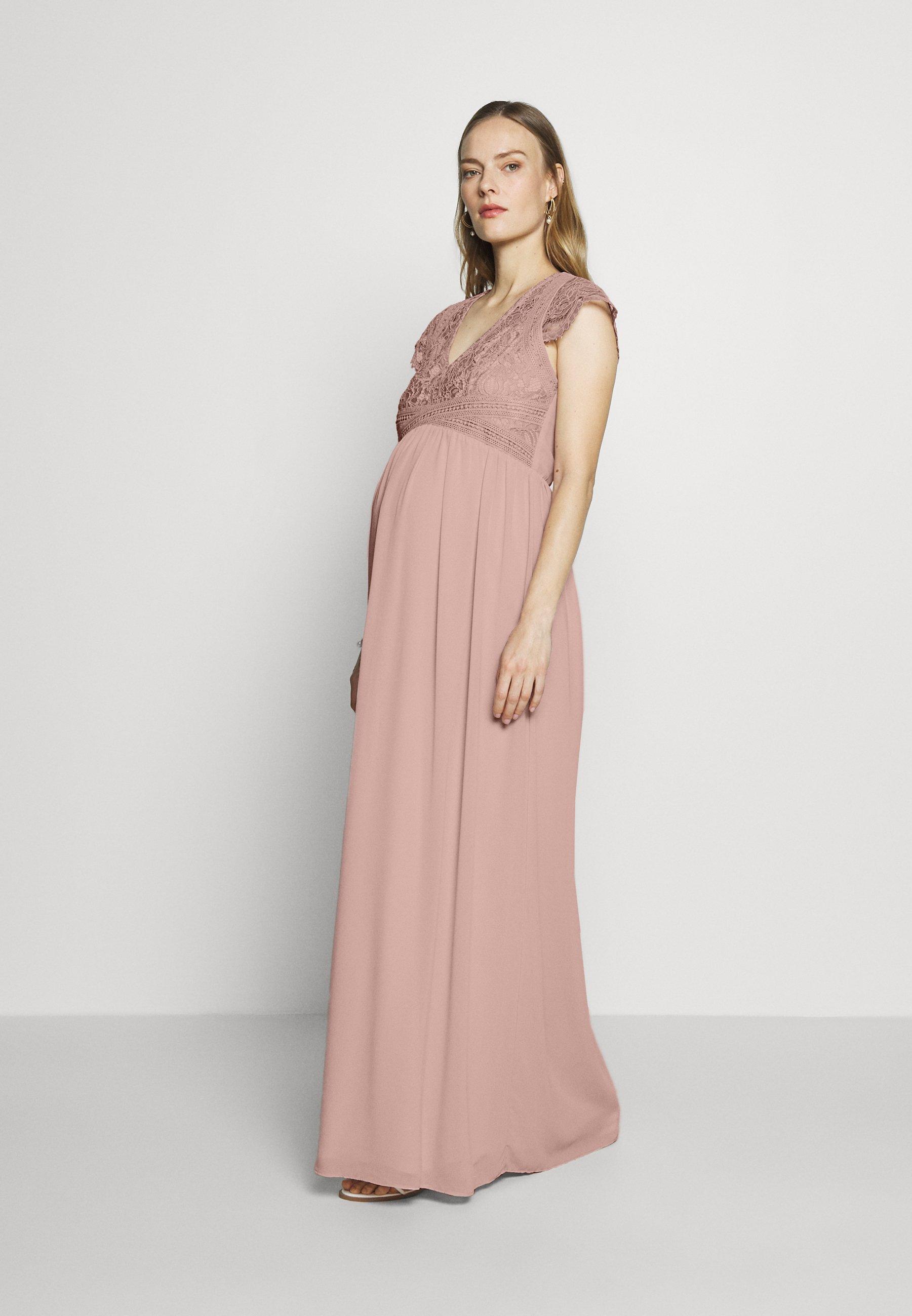 TFNC Maternity VANJA MAXI - Vestito elegante - new mink WCOREkjn