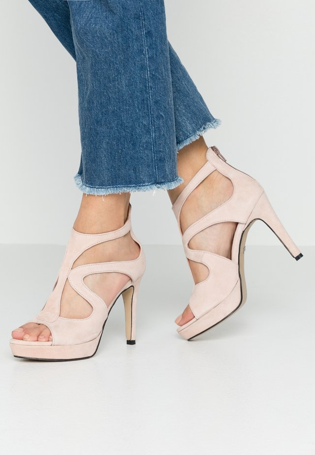 CARIN - High Heel Sandalette - rose