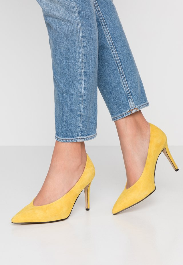 AURA - High Heel Pumps - lemonade